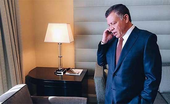 الملك يطمئن هاتفيا على صحة أمير دولة الكويت