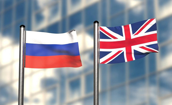 روسيا تفرض عقوبات على مسؤولين بريطانيين