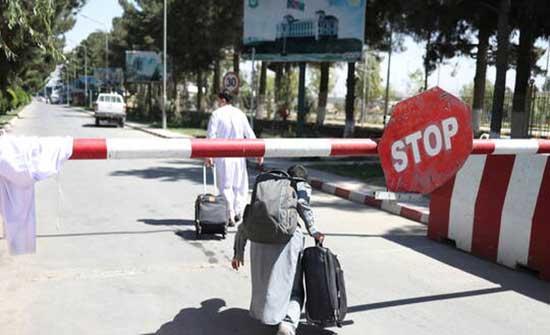"""""""أكسيوس"""": أفغانستان تغذي أزمة الهجرة الأمريكية"""