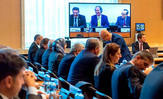 """""""اللجنة المصغرة"""" في """"دستورية سوريا"""" تبدأ اجتماعاتها بجنيف"""