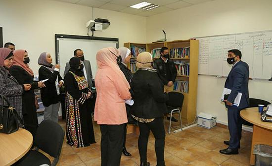 لجنة المرأة تزور ادارة حماية الاسرة