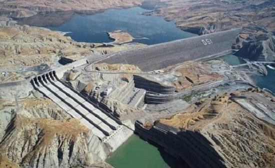 """أردوغان: سنبدأ بتوليد الكهرباء من سد """"إليسو"""" على نهر دجلة"""