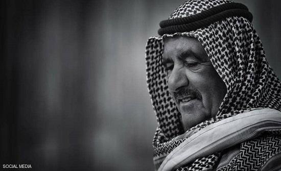 محمد بن راشد ينعى الشيخ حمدان بن راشد