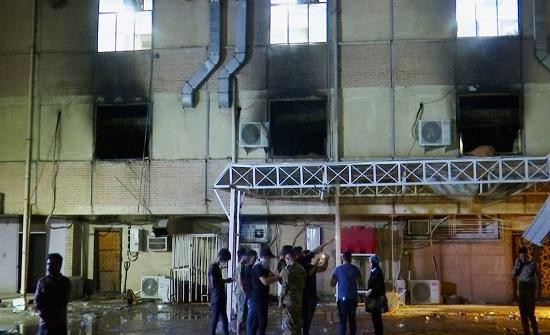 """فاجعة مستشفى العراق..  58 قتيلاً و""""ناس قفزت من النوافذ"""""""