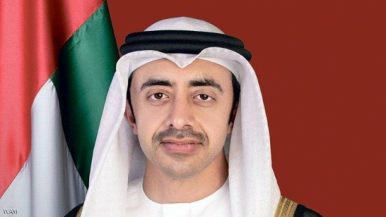عبدالله بن زايد يستقبل ممثلي الثلاثي الأوروبي