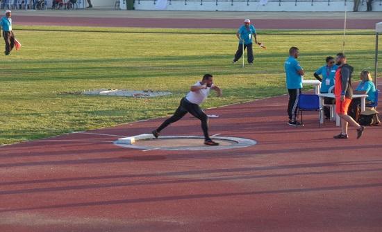ذهبية وبرونزية أردنية في افتتاح بطولة تونس الدولية البارالمبية لألعاب القوى