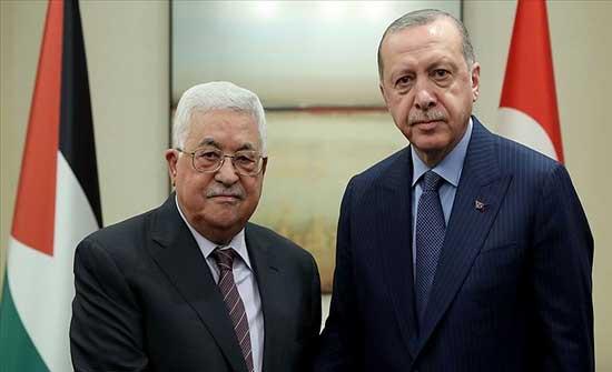 الرئيس الفلسطيني يزور تركيا