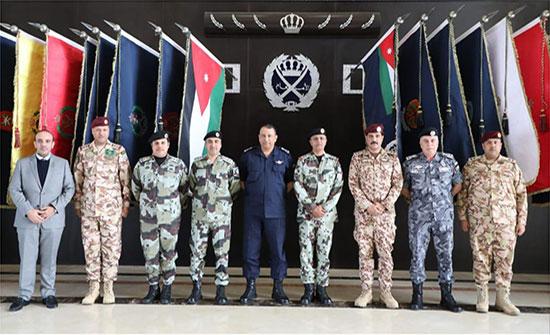 اللواء الحواتمة يلتقي قائد قوات الطوارئ الخاصة السعودية المدينة نيوز