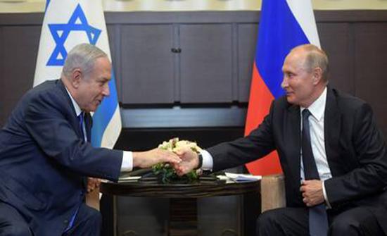 بوتين بحث مع نتنياهو هاتفيا العلاقات الثنائية والوضع في سوريا