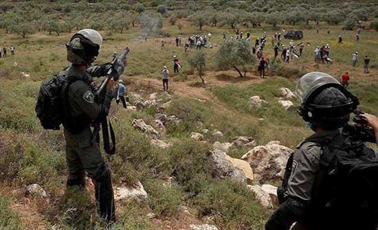 إصابة 15 فلسطينيا برصاص الجيش الإسرائيلي شمال الضفة