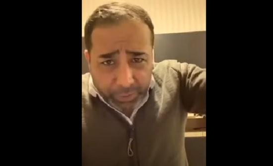 فيديو .. لؤي رحاحلة : والله لاربيك يا علاء الفزاع
