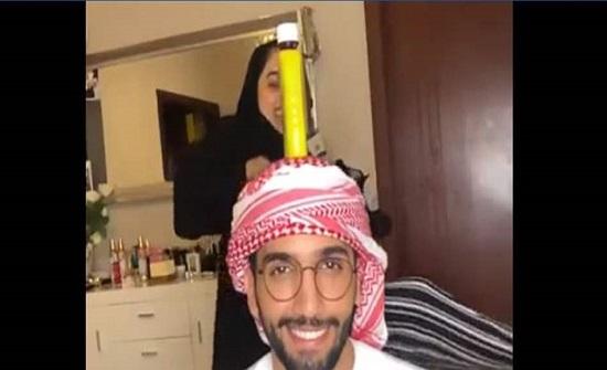 """لقّنت زوجها درساً لا يُنسى في تحدّي """"غطاء الزّجاجة""""! (فيديو)"""
