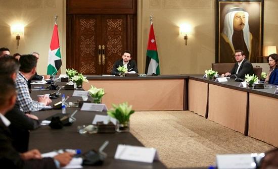 الامير حسين يؤكد ضرورة توحيد جهود المبادرات التطوعية