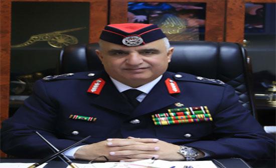 مدير عام الدفاع المدني يهنئ الملك بعيد ميلاده