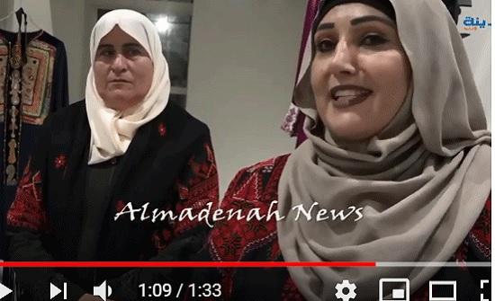 بالفيديو : لقاء  مع سيدة فلسطينية  قدمت الى عمان للمشاركة في أيام مقدسية