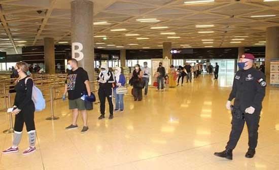 عزايزة والجازي يتفقدان مطار الملكة علياء