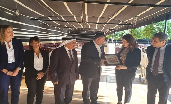 """""""فلسطين النيابية"""" تلتقي رئيسة خارجية البرلمان الايطالي"""
