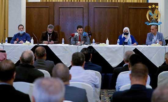 الفيصلي يرفع قرارات الهيئة العامة بخصوص تخفيض الرسوم لوزير الشباب