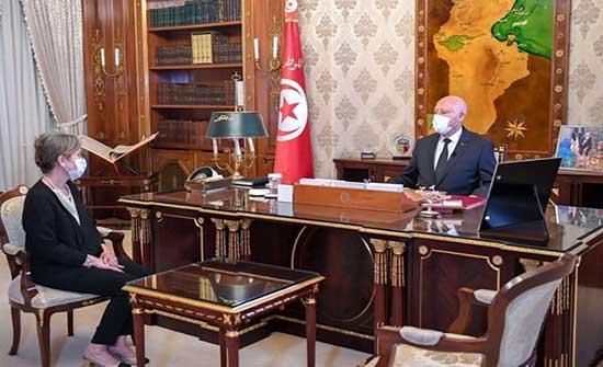 تونس .. قيس سعيد يدعو نجلاء بودن إلى التعجيل بتشكيل الحكومة