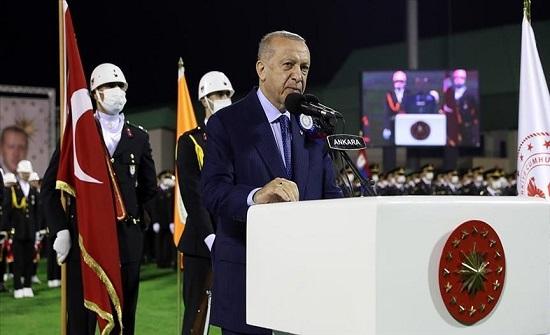 أردوغان: الاقتصاد التركي ثاني أسرع اقتصاد نموا في العالم