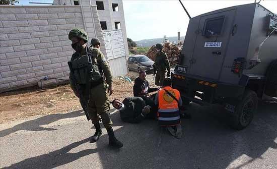 إصابة 5 فلسطينيين إثر مواجهات مع الجيش الإسرائيلي بالضفة