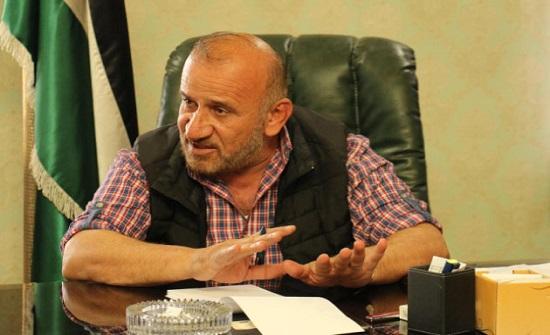 اصابة رئيس بلدية الرصيفة بكورونا
