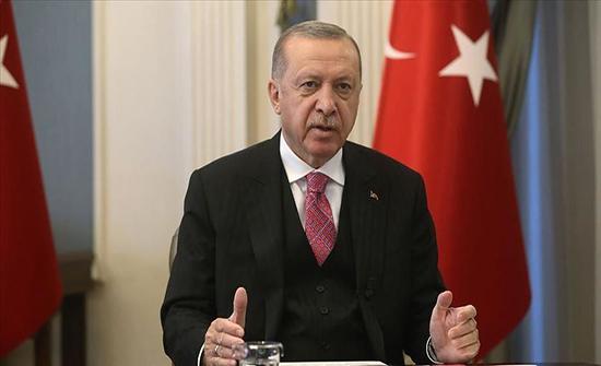 أردوغان: نواصل حماية حقوقنا في بحارنا بإرادة قوية