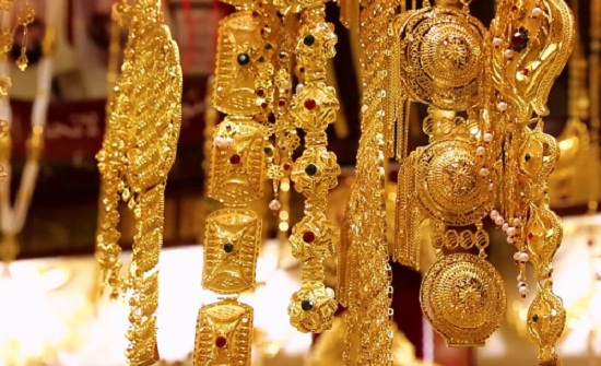 أسعار الذهب في الأردن الأربعاء