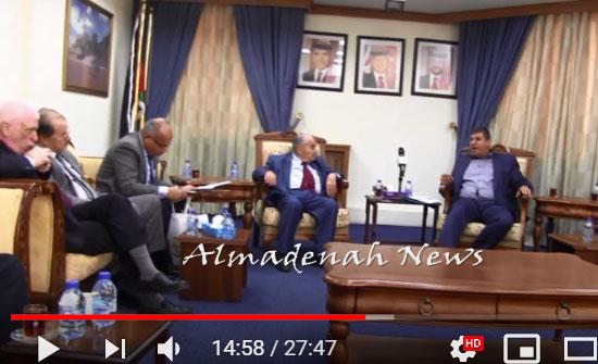بالفيديو : مستشفى المقاصد اعرق مستشفى في القدس على وشك الافلاس ومديره يستغيث بالاردن ويلتقي رئيس لجنة فلسطين