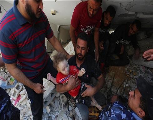 بينهم 58 طفلا.. ارتفاع شهداء العدوان الإسرائيلي على غزة إلى 197