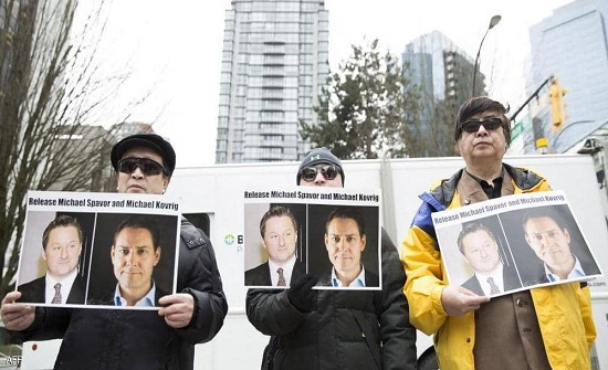 """الصين تطلق سراح كنديين بعد الإفراج عن مديرة لـ""""هواوي"""""""