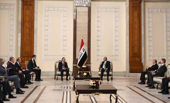 الرئيس العراقي يدعو إلى تكاتف دولي لمواجهة التحديات العالمية