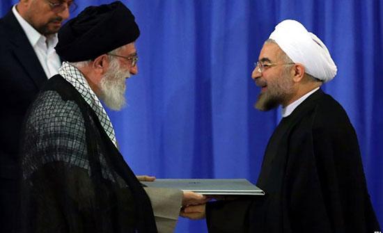 """خامنئي يحذر """"روحاني"""" من التفاوض مع واشنطن"""
