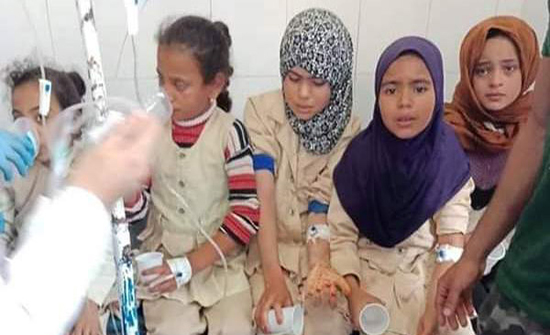 صور : تسمم 168 تلميذًا بعد تناولهم وجبات مدرسية فاسدة بمصر