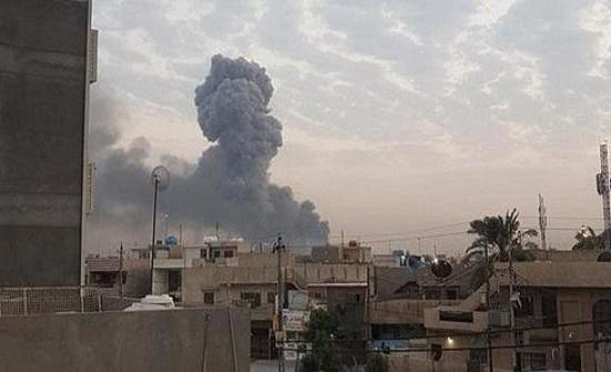 انفجار مخزن الحشد بالأنبار.. مسؤول يتهم الدرون