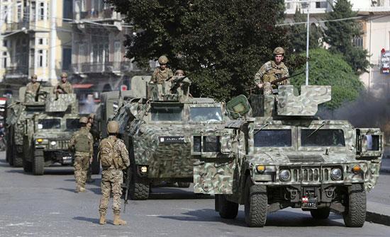 الجيش اللبناني: خروقات اسرائيلية مستمرة للسيادة اللبنانية