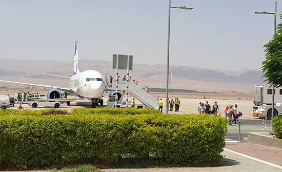 وصول طائرة تقل 145 سائحا من روسيا البيضاء