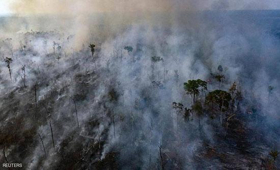 حرائق الأمازون.. قمة السبع تتبرع بـ20 مليون دولار