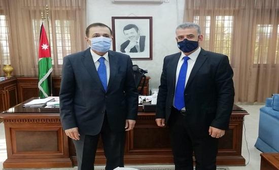 النعيمي يشيد بدور المكتبة الوطنية في الاحتفال بمئوية الدولة الأردنية