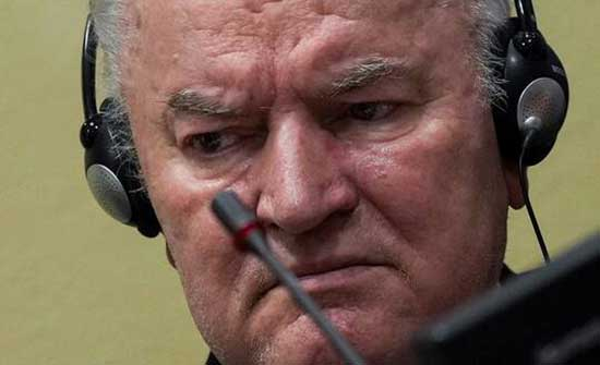 السجن مدى الحياة للقائد السابق لقوات صرب البوسنة