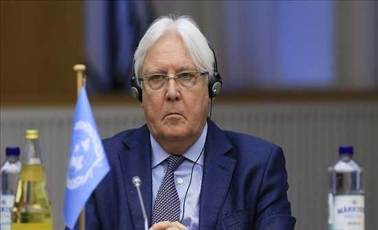 الحوثي خلال لقاء غريڤيث: نرفض ربط الملف الانساني بالسياسي