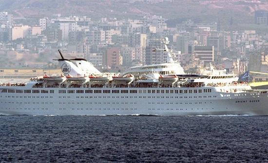 غرق باخرة سياحية كبيرة في مرفأ بيروت ومقتل اثنين وجرح 7 من طاقمها