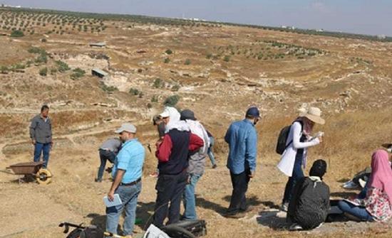 إربد:بدء اعمال التنقيب في موقع ابيلا الأثري