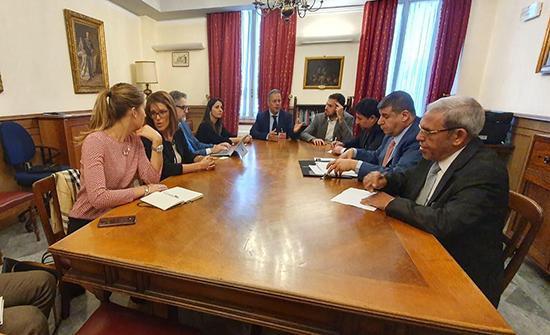 فلسطين النيابية تلتقي نوابا ايطاليين في روما