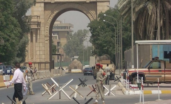 العراق يعلن عن موعد افتتاح المنطقة الخضراء ببغداد