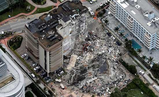 ارتفاع عدد قتلى انهيار مبنى في فلوريدا إلى 95