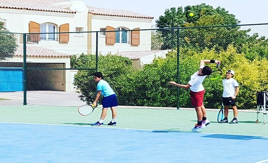 اكاديمية عمان للتنس تواصل فتح اكاديمية في البكالوريا ودوينزوالارثوذكسي والمدنية الرياضية