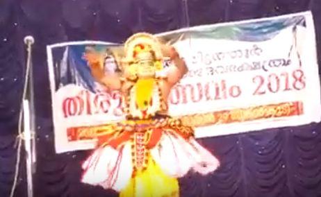 لحظة وفاة فنان أثناء تقديم رقصة على المسرح (فيديو)