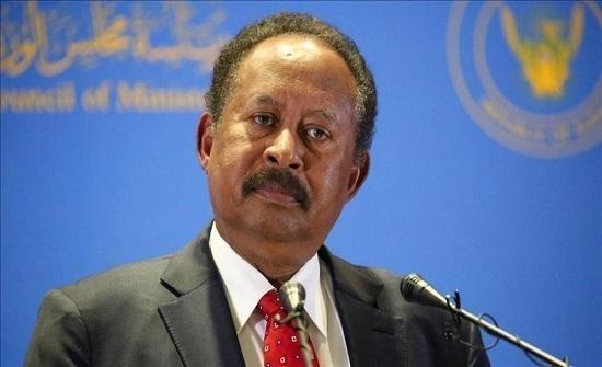 """حمدوك يحذر من تشظي السودان بسبب """" تدهور الأوضاع الأمنية"""""""