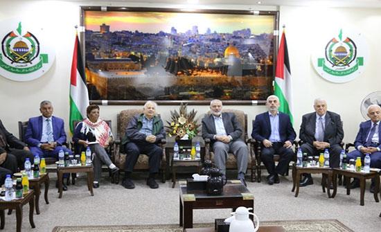 رئيس لجنة الانتخابات الفلسطينية يصل قطاع غزة